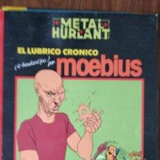 Cómics: COLECCIÓN NEGRA Nº 11: EL LÚBRICO CRÓNICO - MOEBIUS. Lote 256129980