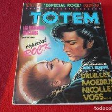 Cómics: TOTEM EXTRA 6 ESPECIAL ROCK ( DRUILLET MOEBIUS ) NUEVA FRONTERA. Lote 258244505