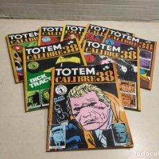 Cómics: TOTEM CALIBRE 38 - DEL 1 AL 8 - COLECCIÓN COMPLETA. Lote 259871445