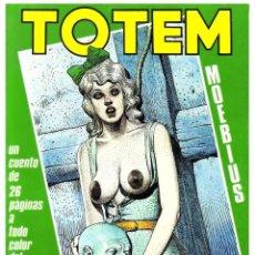 Cómics: COMIC TOTEM Nº 25 - EDITORIAL NUEVA FRONTERA - EXCELENTE ESTADO - 1980. Lote 262004420