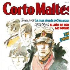 Comics : CORTO MALTÉS Nº 8. NEW COMIC. CON CROMOS. EXCELENTE.. Lote 263755815