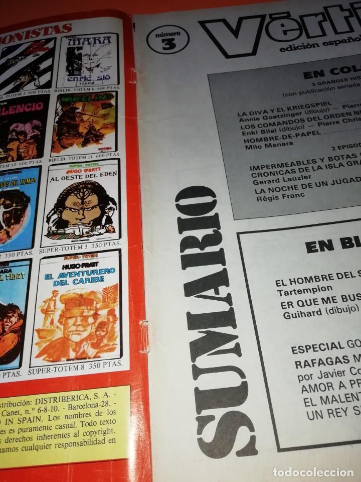Cómics: VERTIGO . Nº 3 . EDITORIAL NUEVA FRONTERA 1982 - Foto 2 - 265825784