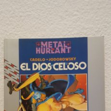 Fumetti: COMIC - EL DIOS CELOSO - CADELO / JODOROWSKI - METAL HURLANT - COL. HUMANOIDES 27 - EUROCOMIC. Lote 273186288