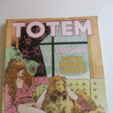 Comics: TOTEM - MANARA POR UN INVIERNO CALIENTE - Nº 62 - EDITORIAL NUEVA FRONTERA E2. Lote 274781133