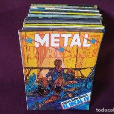 Cómics: LOTE DE 27 DE COMICS METAL HURLANT, NUEVA FRONTERA, EUROCOMIC. Lote 275845458