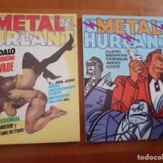 Cómics: METAL HURTLANT. 32 Y 36. Lote 277247278