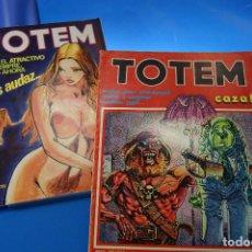 Cómics: REVISTA PARA ADULTOS TOTEM. ED. NUEVA FRONTERA. Nº 18 Y 58.. Lote 278184288
