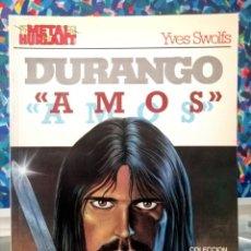 Cómics: METAL HURLANT - COLECCIÓN METAL Nº 25 - DURANGO AMOS (EUROCOMIC 1984) ''BUEN ESTADO''. Lote 283489943