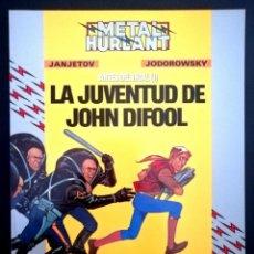 Cómics: METAL HURLANT - COLECCIÓN HUMANOIDES Nº 31 - ANTES DEL INCA (I) LA JUVENTUD DE JOHN DIFOOL. Lote 283645403