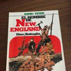 Comics: SUPER-TOTEM Nº 19, EL HOMBRE DE NEW ENGLAND, DINO BATTAGLIA , EDITORIAL NUEVA FRONTERA. Lote 285549448
