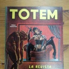 Cómics: TOTEM - PARA ADULTOS . LA REVISTA DE NUEVO COMIC RETAPADO. Lote 287826143
