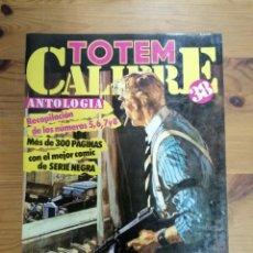 Cómics: TOTEM - CALIBRE 38 ANTOLOGIA . 300 PÁGINAS RECOPILACIÓN NÚMEROS 5,6,7 Y 8. Lote 287827783