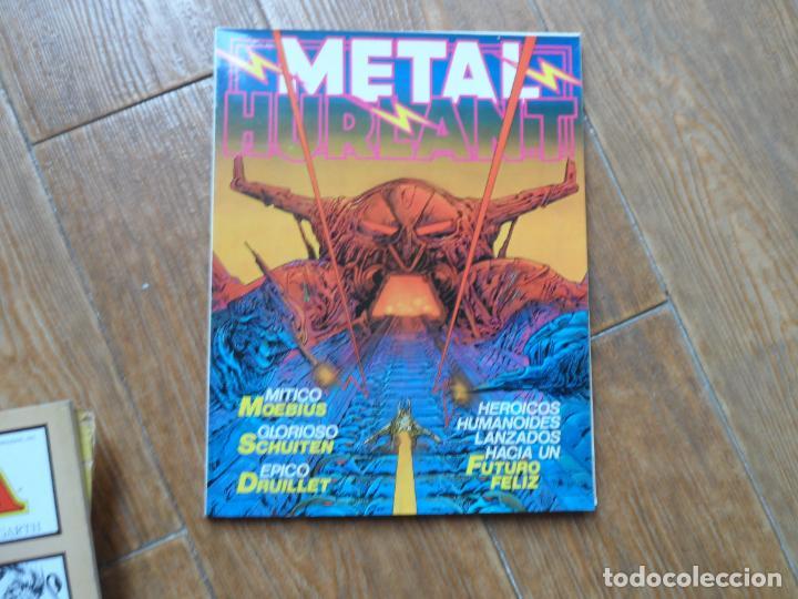 METAL HURLANT N º 3 NUEVA FRONTERA EUROCOMIC 1981 (Tebeos y Comics - Nueva Frontera)