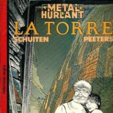 Cómics: SCHUITEN & PEETERS - LA TORRE - EUROCOMIC 1987 - COLECCION NEGRA Nº 26 - MUY BUENO. Lote 288357703