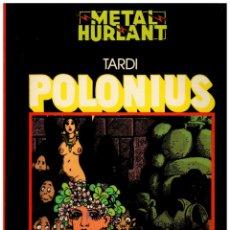 Comics: COLECCION NEGRA 5. POLONIUS. TARDI. MUY BUENO.. Lote 289341573