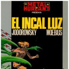 Cómics: COLECCION HUMANOIDES 12. - EL INCAL LUZ - MOEBIUS. EXCELENTE.. Lote 289342118