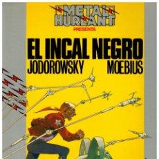 Cómics: COLECCION HUMANOIDES 11. - EL INCAL NEGRO - MOEBIUS. EXCELENTE.. Lote 289342278