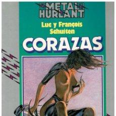 Cómics: COLECCION HUMANOIDES 9. - CORAZAS - SCHUITEN. BUENO.. Lote 289342598