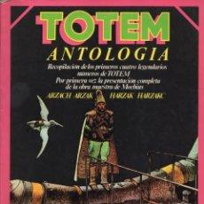 Cómics: TOTEM ANTOLOGIA RETAPADO CON LOS NUMEROS 1 A 4 - NUEVA FRONTERA - SUB01M. Lote 293161683