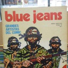 Comics: REVISTA BLUE JEANS - DEL 1 AL 28 - PRATT - BRECCIA - PALACIOS - BONVI ...NUEVA FRONTERA. Lote 293435958
