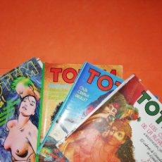 Cómics: TOTEM. NUMEROS 26,38,45 Y 46. EDITORIAL NUEVA FRONTERA. DESGASTADOS.. Lote 294743983