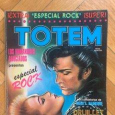 Cómics: TOTEM EXTRA Nº 6 ESPECIAL ROCK: DRUILLET MOEBIUS NICOLLET VOSS. Lote 295418298