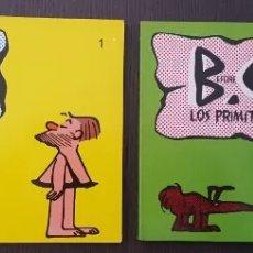 Cómics: B.C. LOS PRIMITIVOS - JOHNNY HART COLECCIÓN 1 Y 2 - DISTRINOVEL - AÑO 1981. Lote 295984233