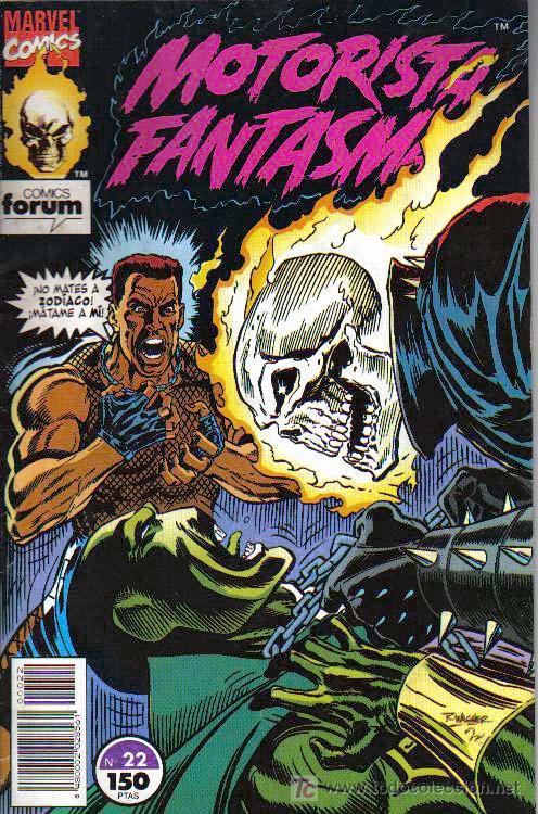 COMIC MARVEL. MOTORISTA FANTASMA Nº 22 (Tebeos y Comics - Panini - Marvel Comic)