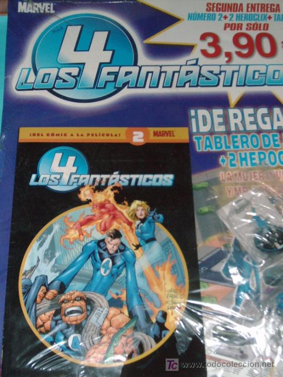 COMIC LOS 4 FANTASTICOS MARVEL Nº2 (Tebeos y Comics - Panini - Marvel Comic)