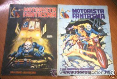 MOTORISTA FANTASMA. LOTE COMICS 2,3. ED.1981. C2094 (Tebeos y Comics - Panini - Marvel Comic)