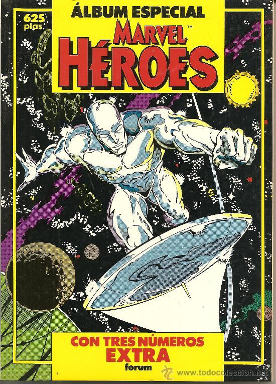 ALBUN ESPECIAL HEROES MARVEL 192 PAGINAS (Tebeos y Comics - Panini - Marvel Comic)