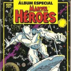 Cómics: ALBUN ESPECIAL HEROES MARVEL 192 PAGINAS. Lote 24679346