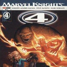 Cómics: MARVEL KNIGHTS: 4 LOS CUATRO FANTÁSTICOS CASI COMPLETA DEL NUM 1 AL NUM 5. Lote 26381601