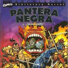 Cómics: BIBLIOTECA MARVEL PANTERA NEGRA TOMO UNITARIO POR JACK KIRBY. Lote 27639143