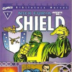 Cómics: BIBLIOTECA MARVEL NICK FURIA AGENTE DE SHIELD TOMO UNITARIO . Lote 27639145
