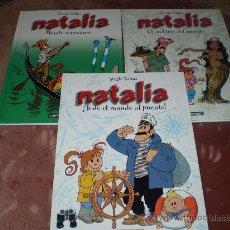 Cómics: NATALIA.3 TOMOS(CASTERMAN. PANINI EDICIONES). Lote 26424080
