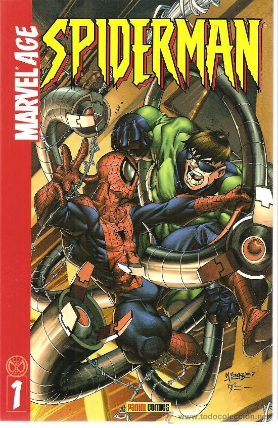 MARVEL AGE SPIDERMAN Nº 1 (Tebeos y Comics - Panini - Marvel Comic)