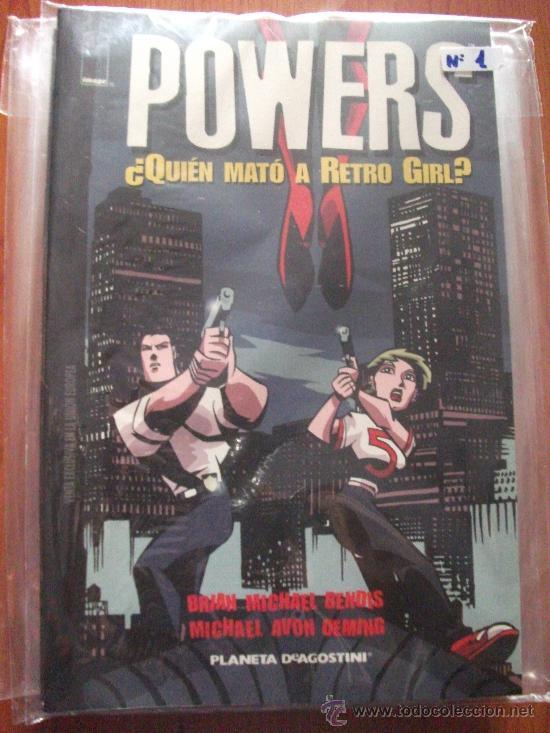 POWERS 8 TOMOS PLANETA DEAGOSTINI Y PANINI COMICS (Tebeos y Comics - Panini - Otros)