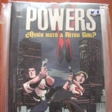 Cómics: POWERS 8 TOMOS PLANETA DEAGOSTINI Y PANINI COMICS. Lote 27593191