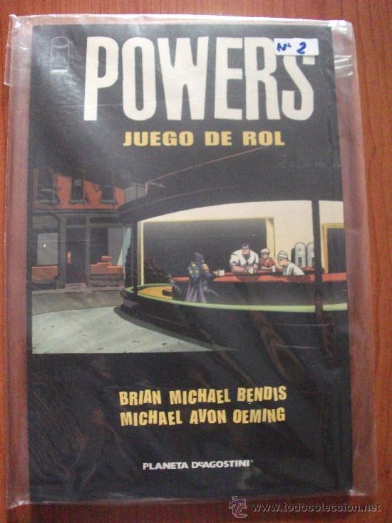Cómics: POWERS 8 TOMOS PLANETA DEAGOSTINI Y PANINI COMICS - Foto 3 - 27593191