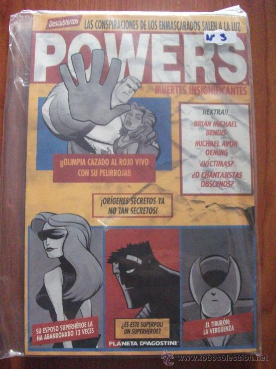 Cómics: POWERS 8 TOMOS PLANETA DEAGOSTINI Y PANINI COMICS - Foto 4 - 27593191