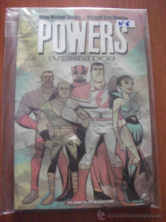 Cómics: POWERS 8 TOMOS PLANETA DEAGOSTINI Y PANINI COMICS - Foto 7 - 27593191
