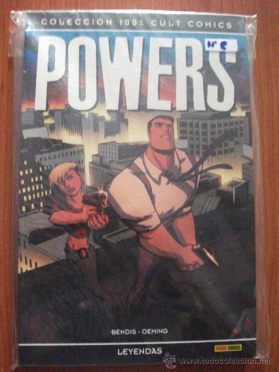 Cómics: POWERS 8 TOMOS PLANETA DEAGOSTINI Y PANINI COMICS - Foto 9 - 27593191