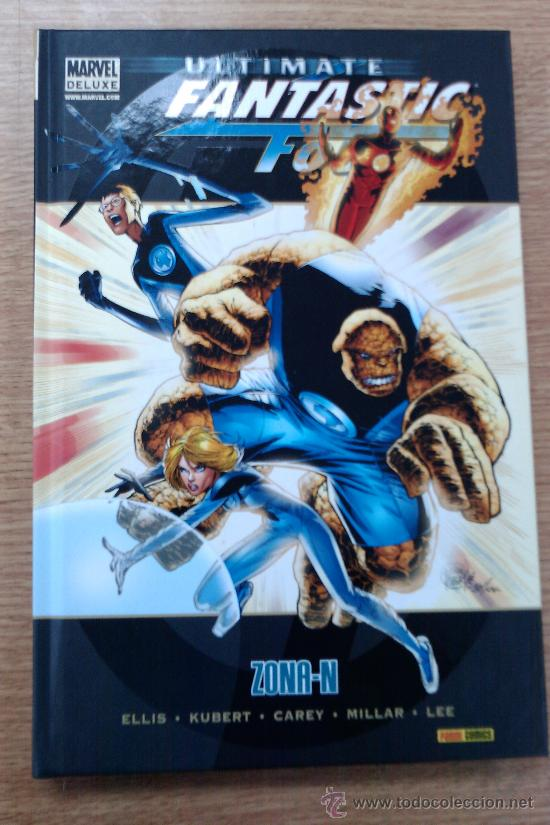 ULTIMATE FANTASTIC FOUR #2: ZONA-N (MARVEL DELUXE) (Tebeos y Comics - Panini - Marvel Comic)