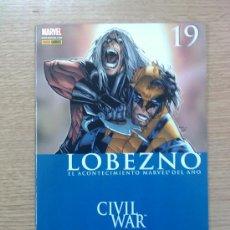 Cómics: LOBEZNO VOL 4 #19 (CIVIL WAR) EDICION NORMAL . Lote 21820234