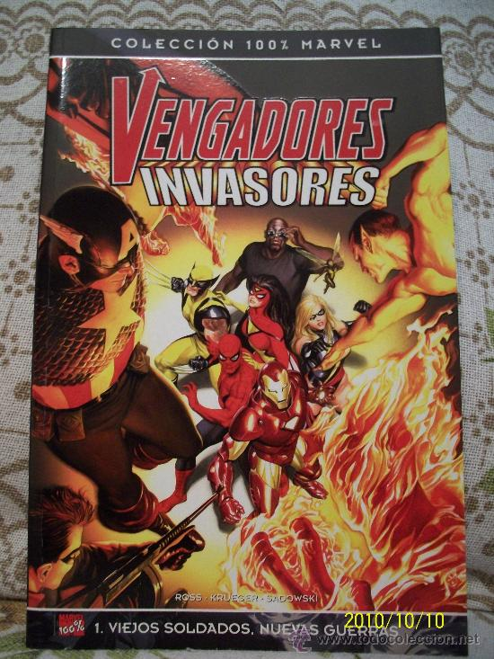 VENGADORES VS INVASORES - BULLET POINTS (Tebeos y Comics - Panini - Marvel Comic)