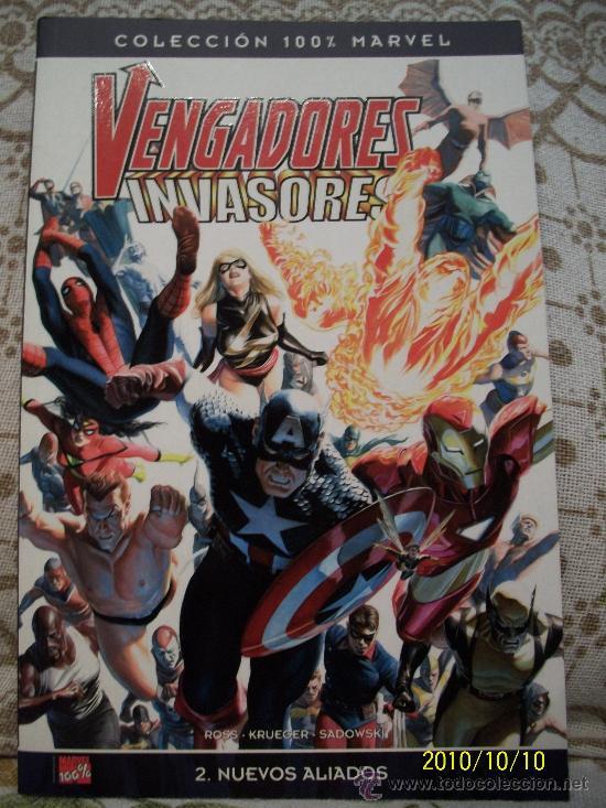 Cómics: VENGADORES VS INVASORES - BULLET POINTS - Foto 2 - 22036750