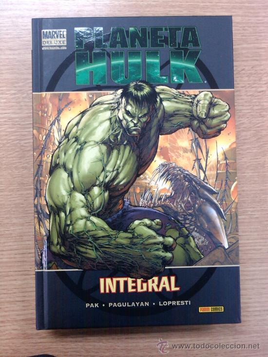 PLANETA HULK INTEGRAL (MARVEL DELUXE) (Tebeos y Comics - Panini - Marvel Comic)