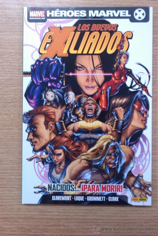 EXILIADOS #23 NACIDOS... PARA MORIR (Tebeos y Comics - Panini - Marvel Comic)