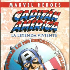 Cómics: MARVEL HEROES.CAPITAN AMERICA. Lote 26366391